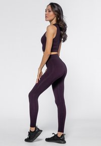 Heart and Soul - Collant - black/plum - 1