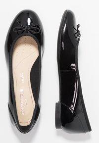 Clarks - COUTURE BLOOM - Ballerinat - black - 3