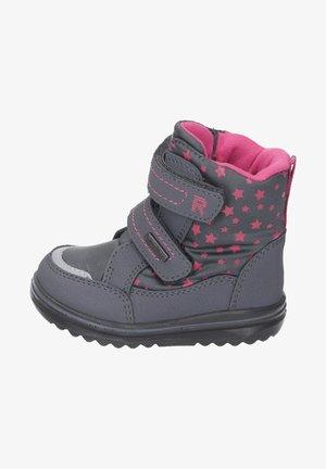 Winter boots - ash/akzent fuchsia
