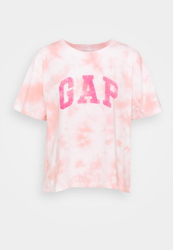 EASY TEE - Print T-shirt - pink
