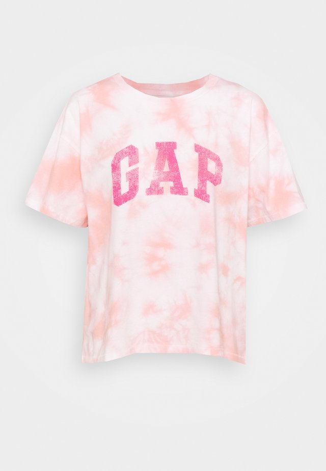 EASY TEE - Camiseta estampada - pink