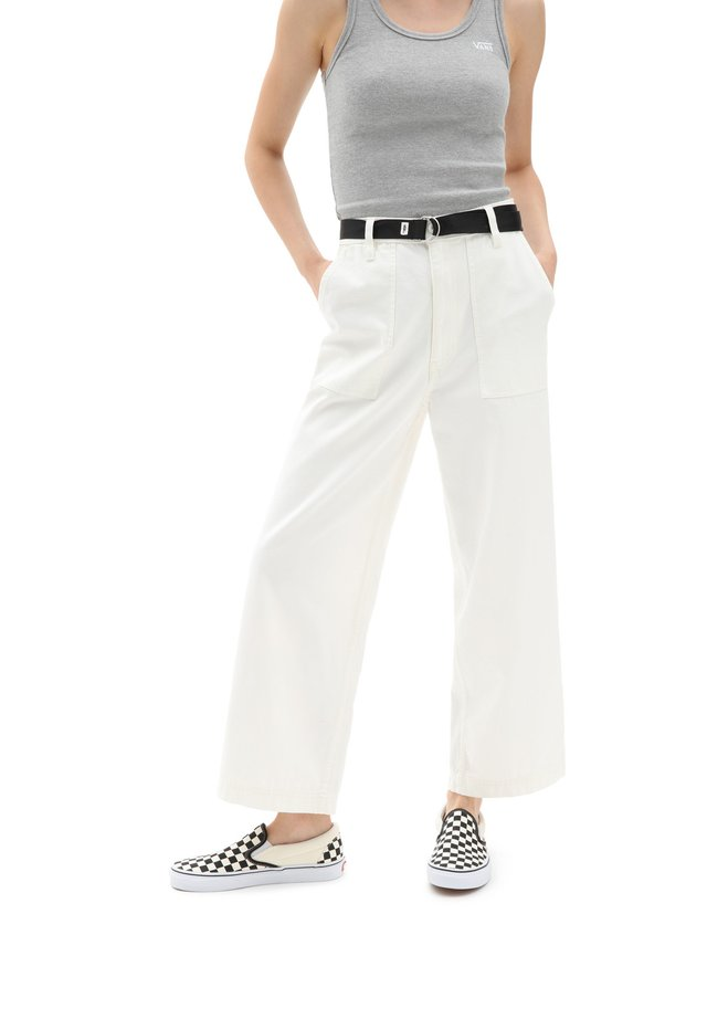 WM CLARK PANT - Broek - white