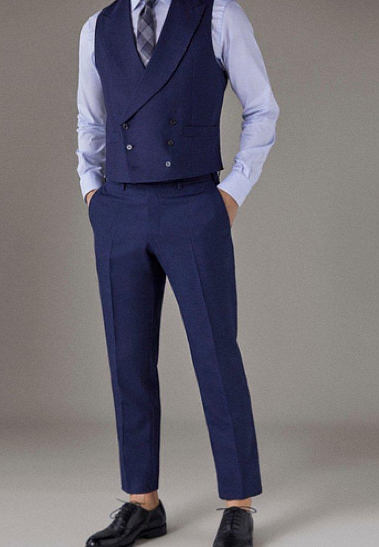 Massimo Dutti - Suit trousers - blue