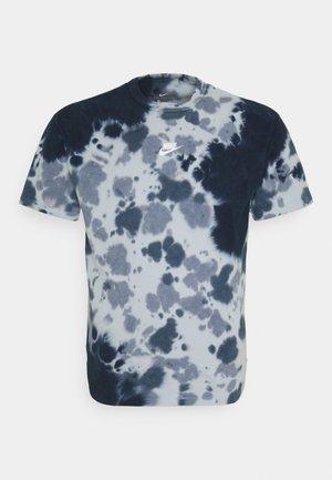 TEE  - T-shirt imprimé - thunder blue/armory blue