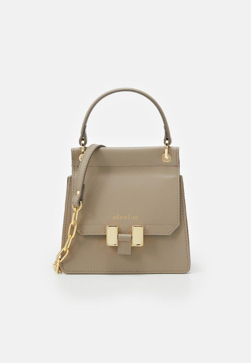 Maison Hēroïne - MARLENE PETITE - Handbag - taupe