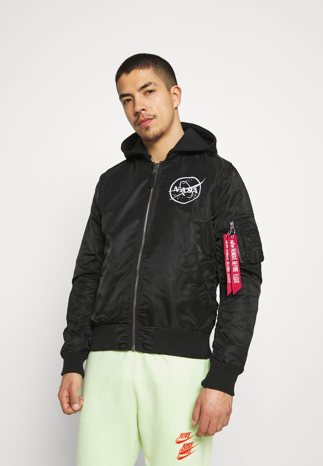 NASA GLOW - Bomber Jacket - black