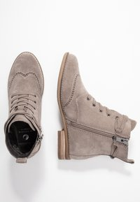 Be Natural - Botines con cordones - taupe - 3