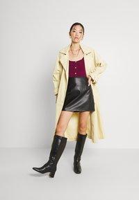 Fashion Union - ELISHA - Cardigan - burgundy - 1