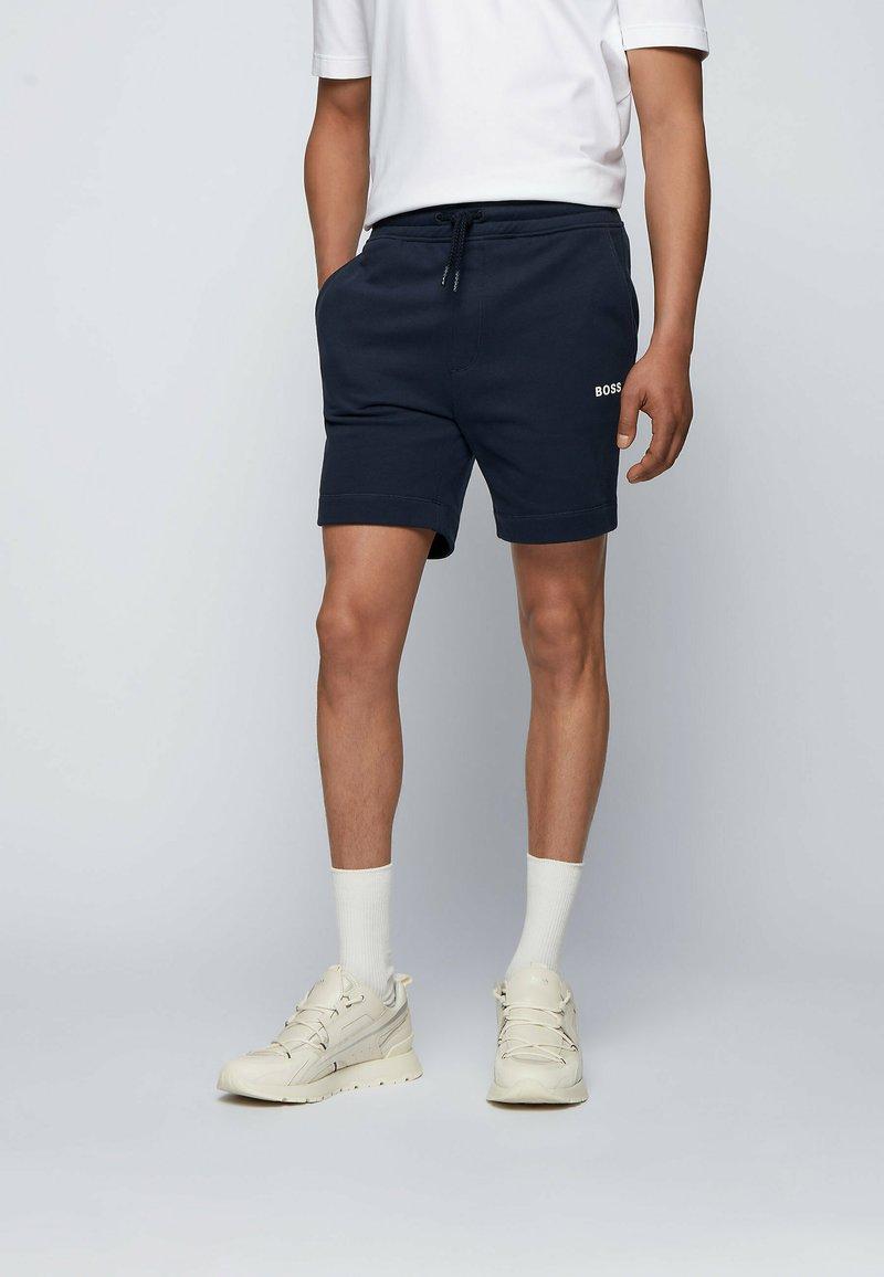 BOSS - Shorts - dark blue