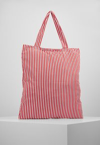 Mads Nørgaard - ATOMA - Tote bag - red/white - 2