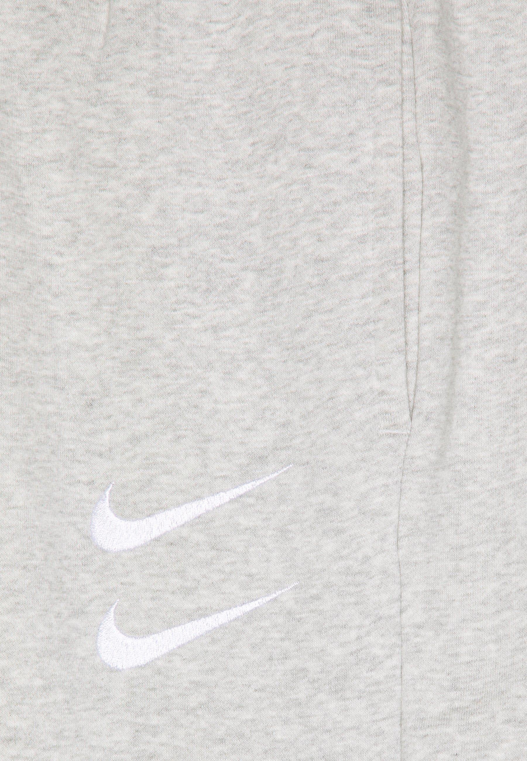 Nike Sportswear PANT - Tracksuit bottoms - grey heather/(white) HccAX