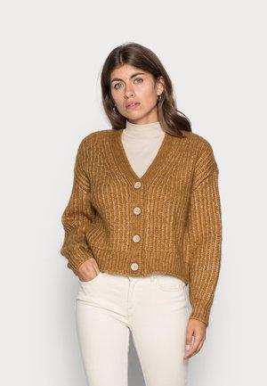 YASSUDANA CARDIGAN - Cardigan - bombay brown