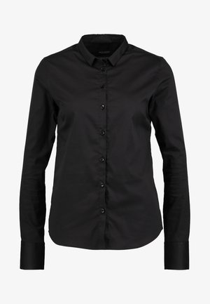 TILDA - Button-down blouse - black