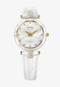 Jowissa - QUARZUHR FACET STRASS SWISS - Chronograph watch - weiß - 0