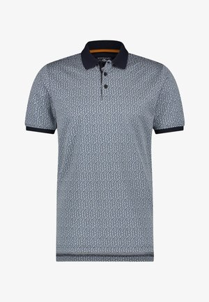 Polo shirt - midnight/grey blue