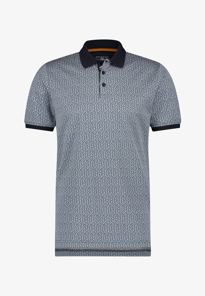 State of Art - Polo shirt - midnight/grey blue