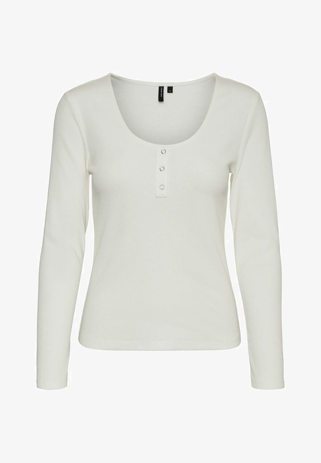 Long sleeved top - snow white