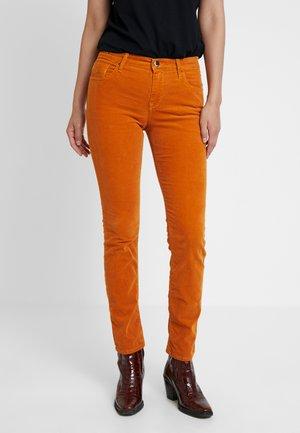 VIVY - Jeans Straight Leg - cognac