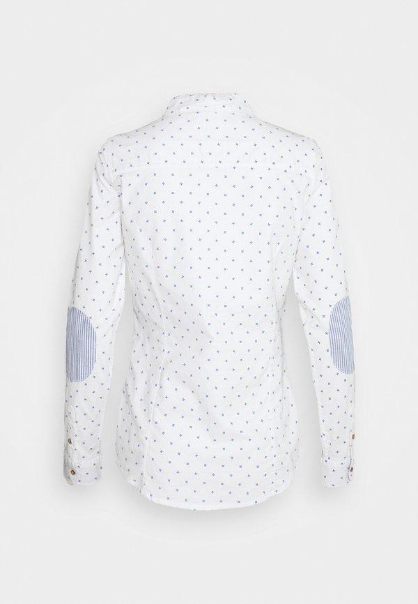 Springfield CAMISA OXFORD - Koszula - white/biały HMQN
