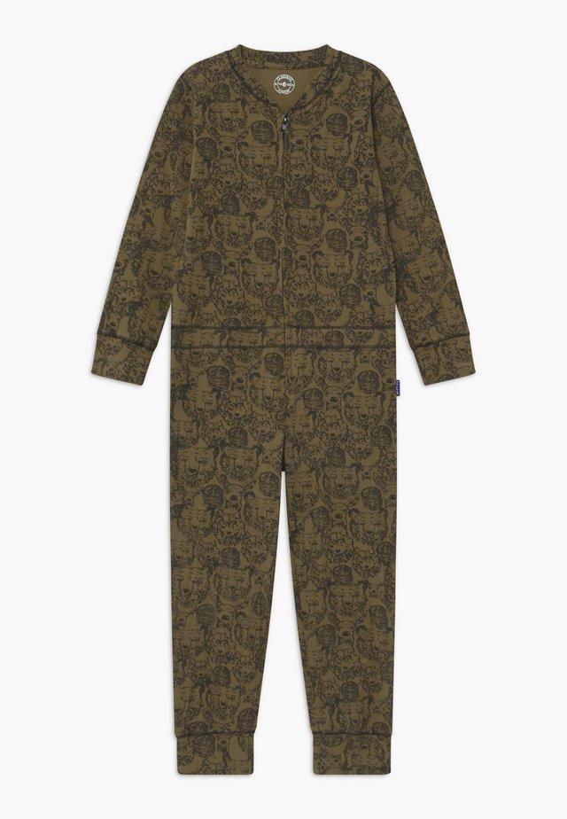 BOYS ONEPIECE - Pyjama - khaki