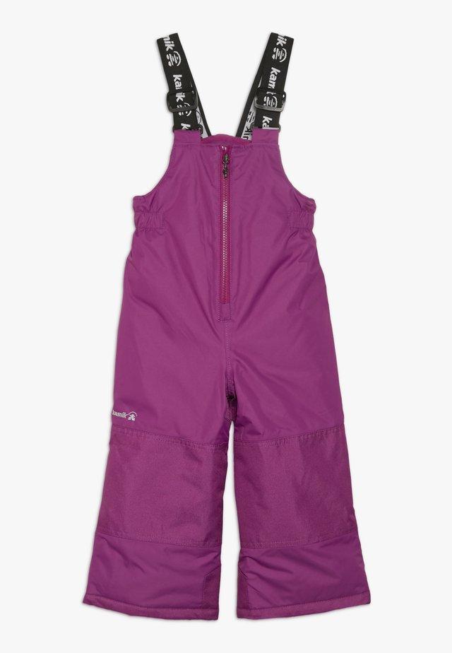 WINKIESOLD - Spodnie narciarskie - berry