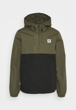 ALDER LIGHT - Summer jacket - flint black