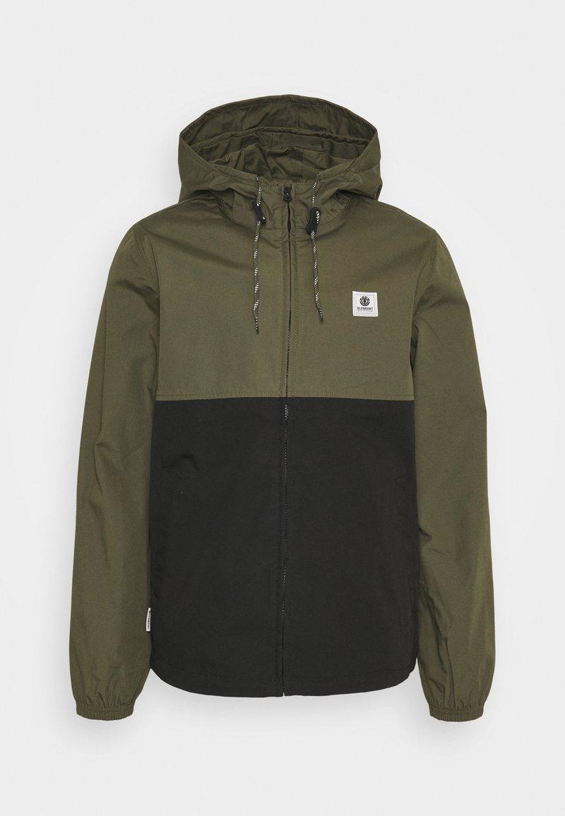 Element - ALDER LIGHT - Summer jacket - flint black