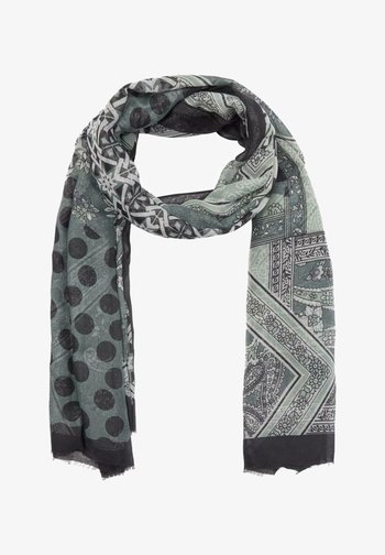 Scarf - green mix