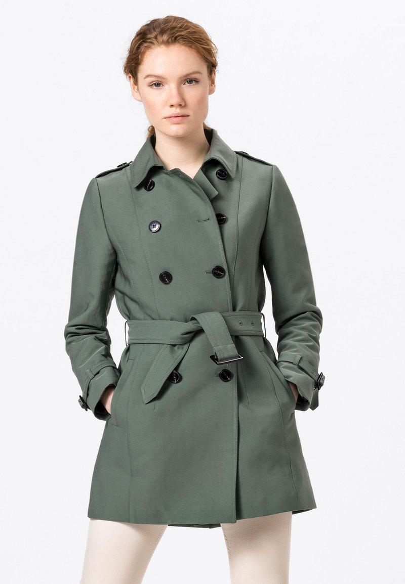 HALLHUBER - Trenchcoat - seegrün