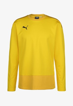 TEAMGOAL TRAINING  - Sweat polaire - cyber yellow