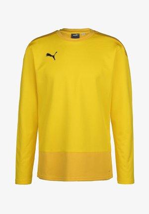 TEAMGOAL TRAINING  - Fleece jumper - cyber yellow