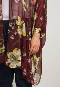 Simply Be - CUFFED BATWING KIMONO - Lehká bunda - multicoloured - 5