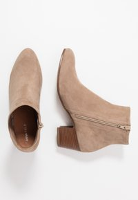 Anna Field - LEATHER BOOTIES - Botki - taupe - 3
