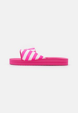 POOL WRAP - Pantofle - neon pink