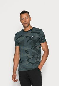 Alpha Industries - BASIC T - Basic T-shirt - black - 0