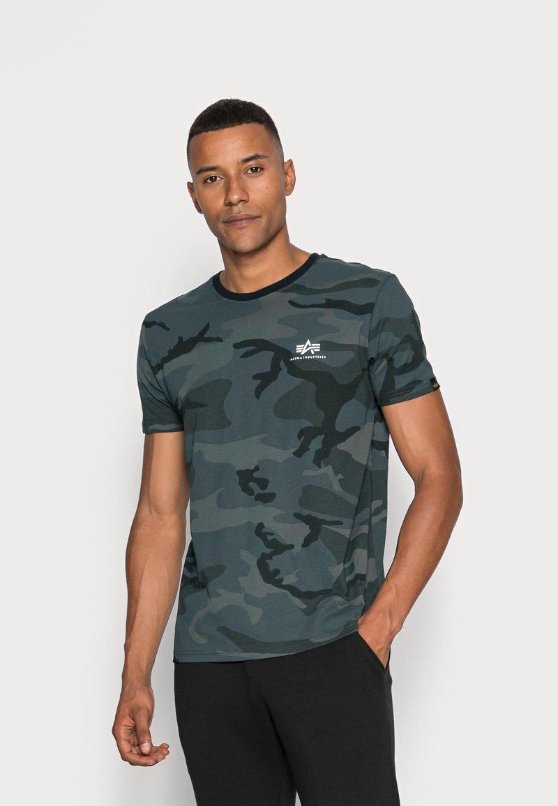 Alpha Industries - BASIC T - Basic T-shirt - black