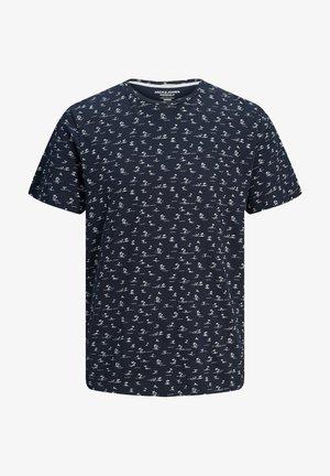 Printtipaita - navy blazer