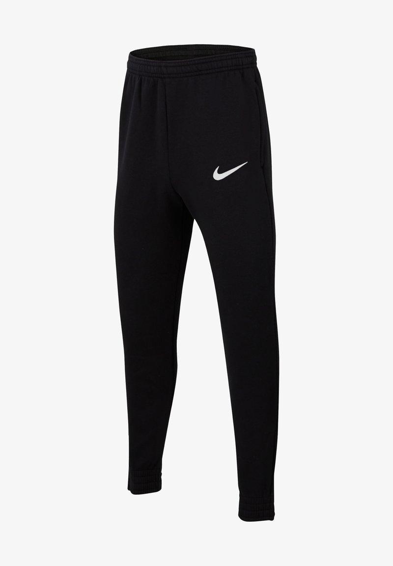 Nike Performance - Tracksuit bottoms - schwarzweiss