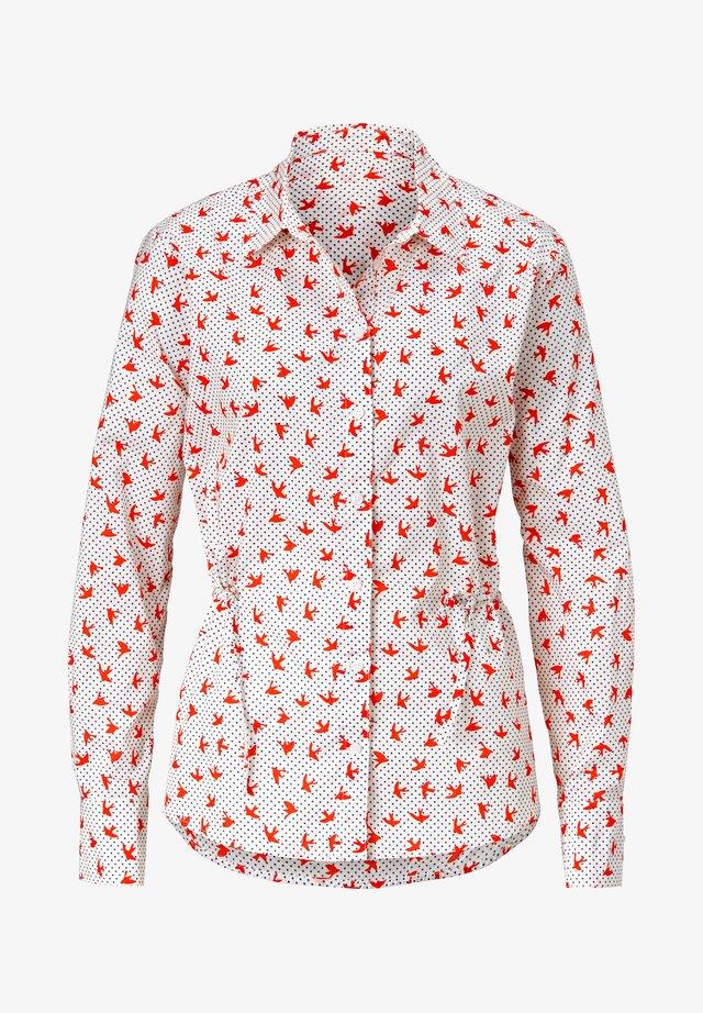 REKEN MAAR  - Button-down blouse - off white