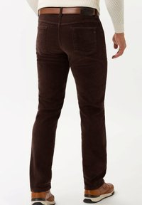 BRAX - STYLE COOPER FANCY - Trousers - brown - 2