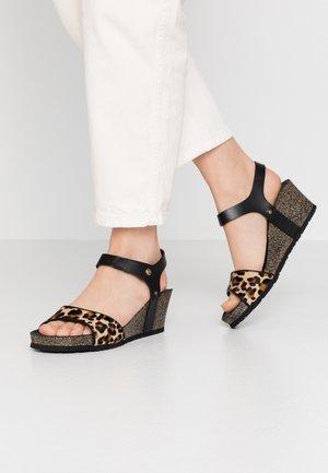 VICTORY  - Sandály na platformě - schwarz