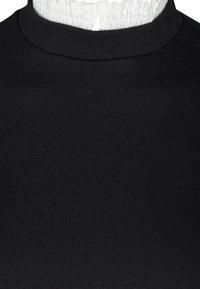 Zizzi - WITH A SEWN-IN - Sweatshirt - black - 2