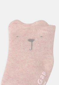 GAP - 3 PACK UNISEX - Calcetines - pink heather - 2