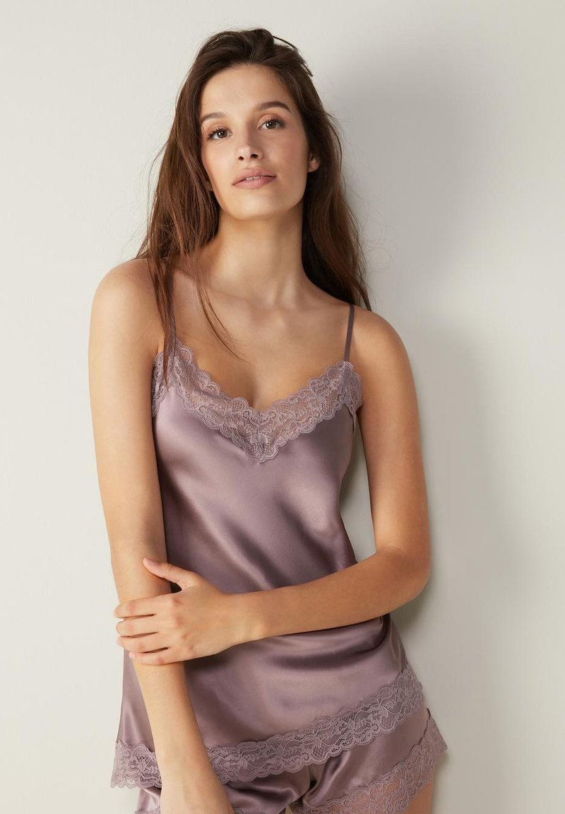 Intimissimi - Pyjama top - violett soft mauve