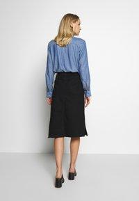 Trendyol - Pouzdrová sukně - black - 2