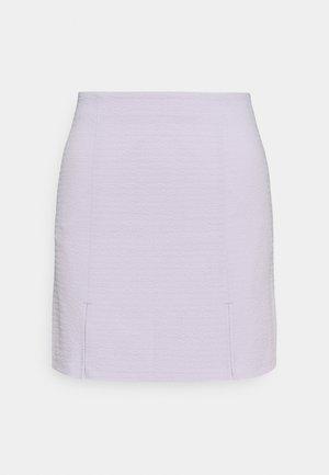 RENATA SKIRT - Spódnica mini - lilac purple dusty light