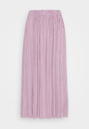 UMA SKIRT - Pleated skirt - mauve shadow