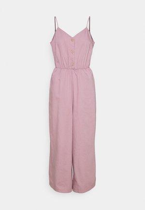 Jumpsuit - pink dusty light eller