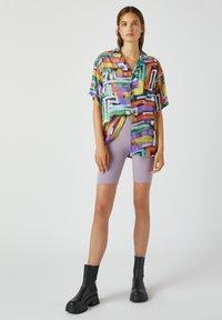 PULL&BEAR - Button-down blouse - multi-coloured - 1