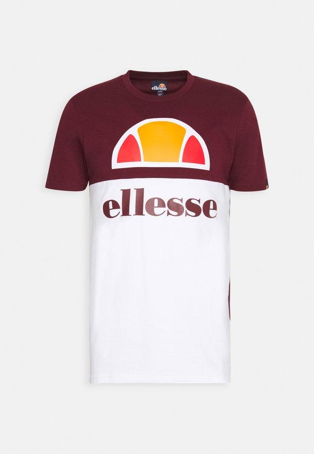 ARBATAX - T-shirt con stampa - burgundy